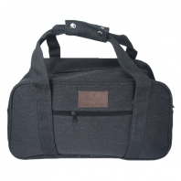 Canvas Travelbag with front pocket